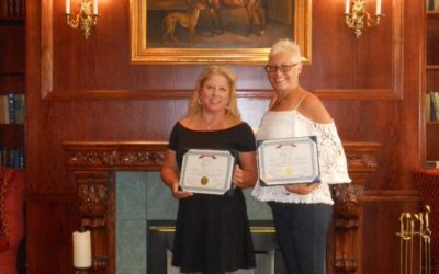CONGRATULATIONS GRI RECIPIENTS TINA BAYONET & ROBYN ST. CLAIR