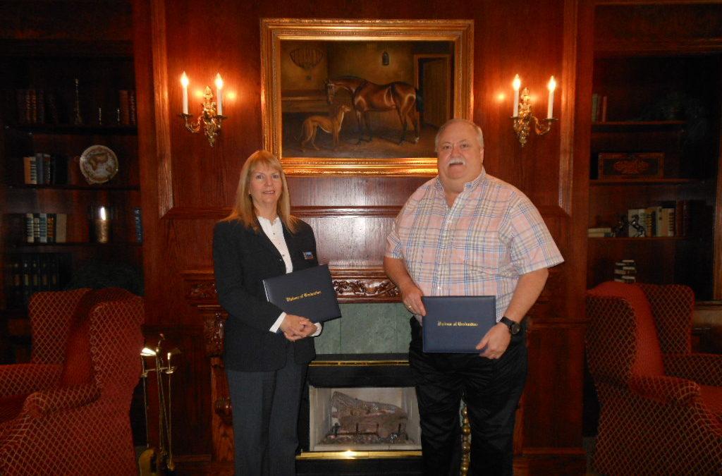 Congratulations to Eddie Lusk and Nika Werner, GRI Recipients
