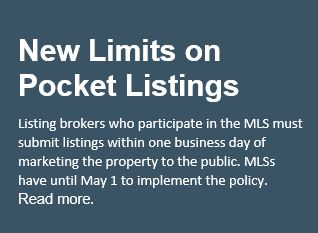 NEW LIMITS ON POCKET LISTINGS